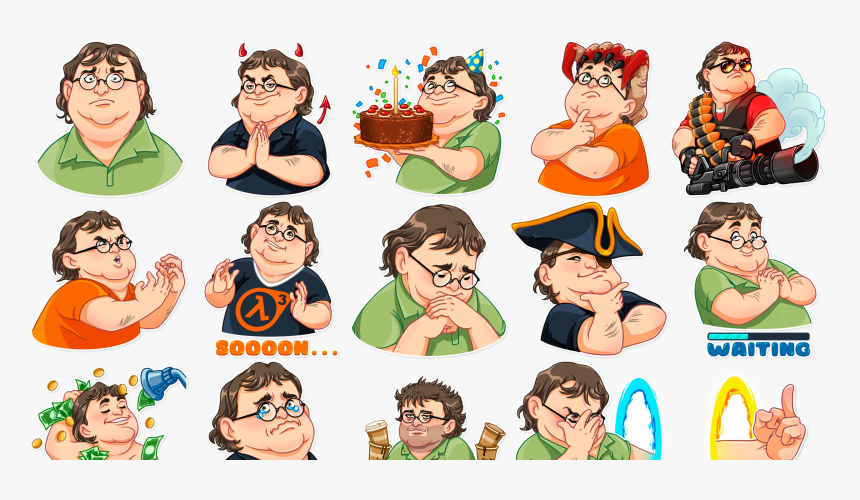 Transparent Gabe Newell Png - Half Life 2, Png Download, Free Download