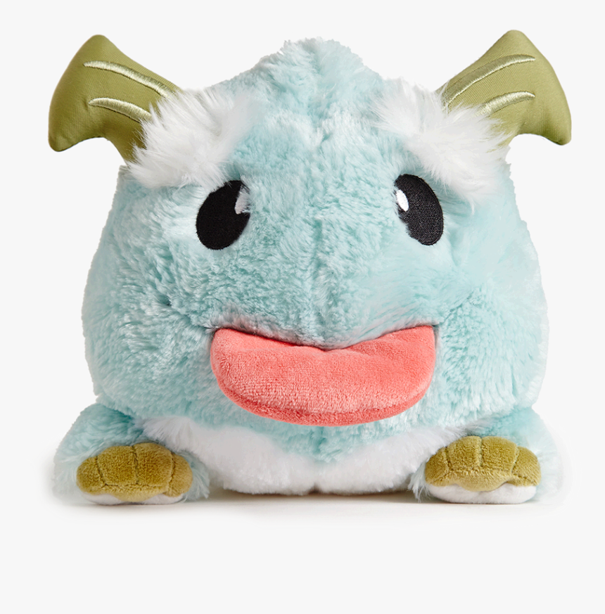 Plush Toy Transparent Background - League Of Legends Poro Plush, HD Png Download, Free Download