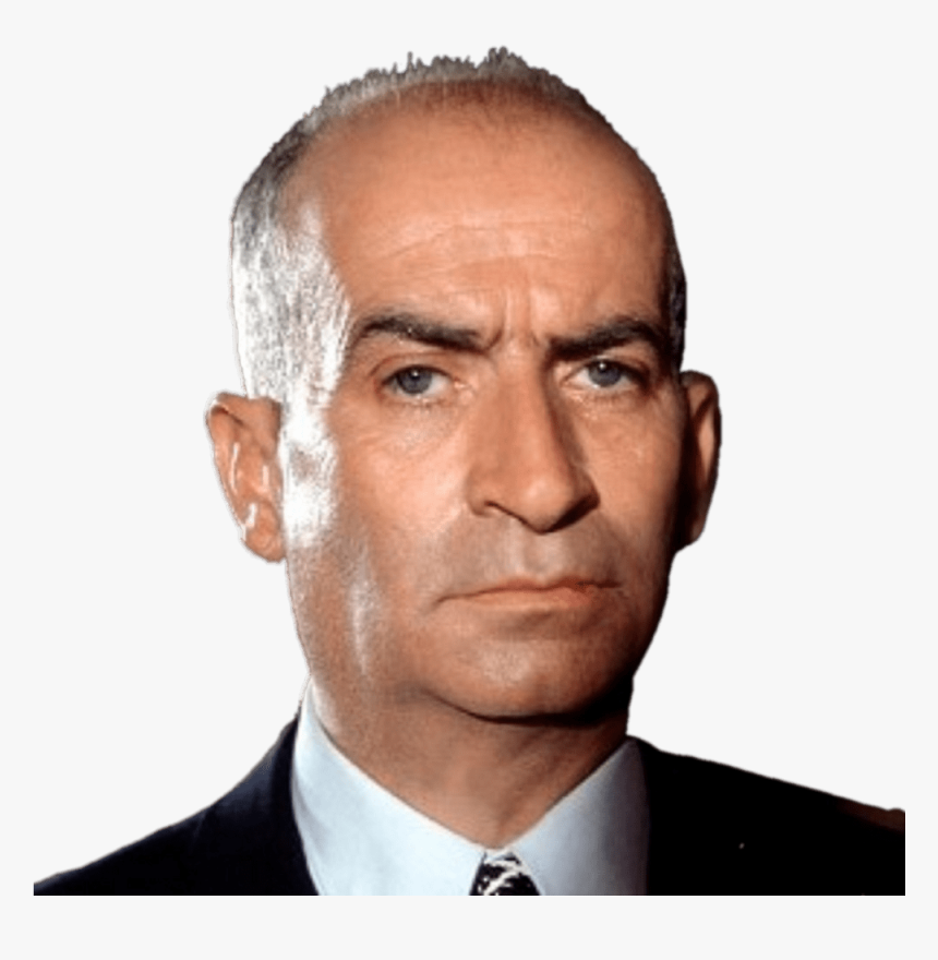 Louis De Funes Serious Clip Arts - Louis De Funes, HD Png Download, Free Download
