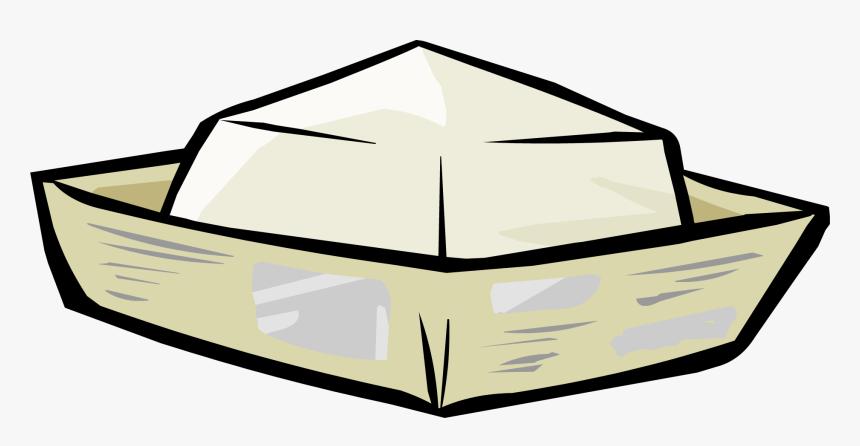 Hat Club Penguin Wiki - Paper Hat Sailor Png, Transparent Png, Free Download
