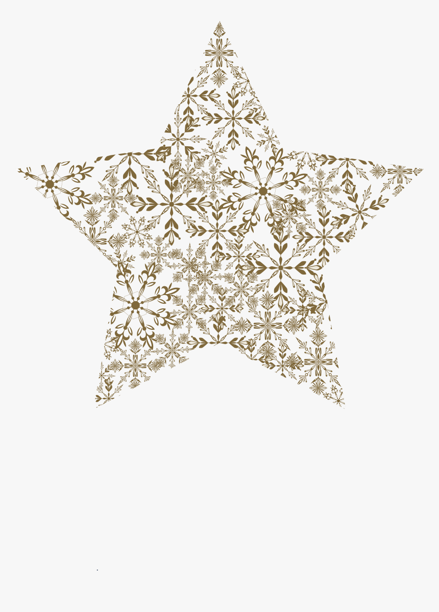 Vector Pattern Decoration Stars Png Download - Decoration Star Png Vector, Transparent Png, Free Download