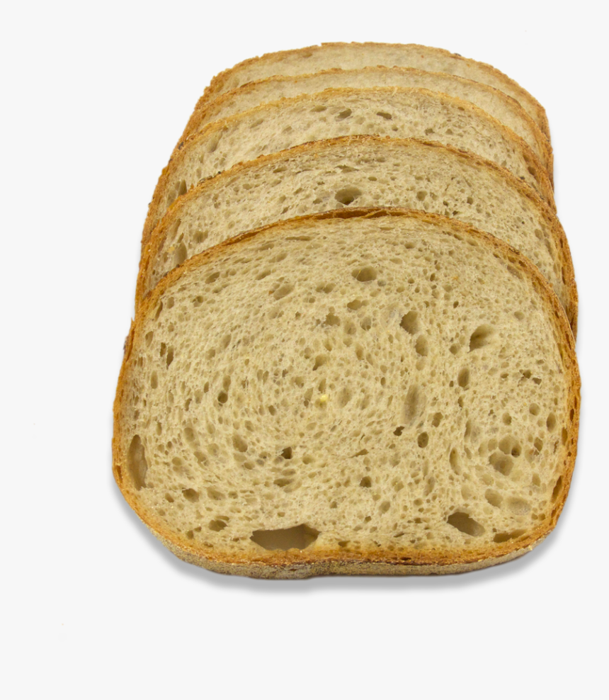 Slice Of Bread Png - Whole Wheat Bread, Transparent Png, Free Download