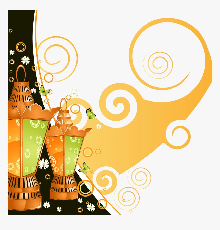 And Beautiful Quran Ramadan Illustration Lamp Patterns - Ramadan Lantern, HD Png Download, Free Download