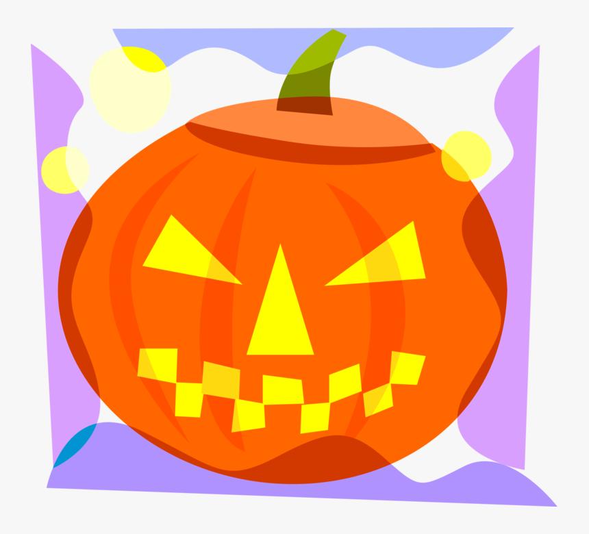 Clip Art Jack Olantern Vector - Calabaza De Halloween, HD Png Download, Free Download