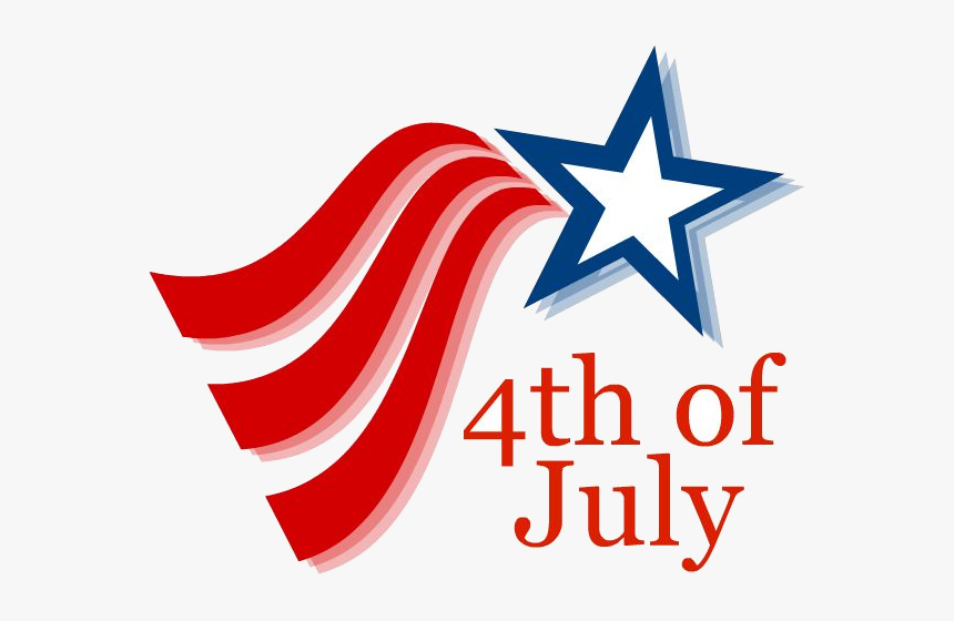 4th Of July Fourth Th Clipart Images On Clip Art Transparent - 4th Of July Clipart Free, HD Png Download, Free Download