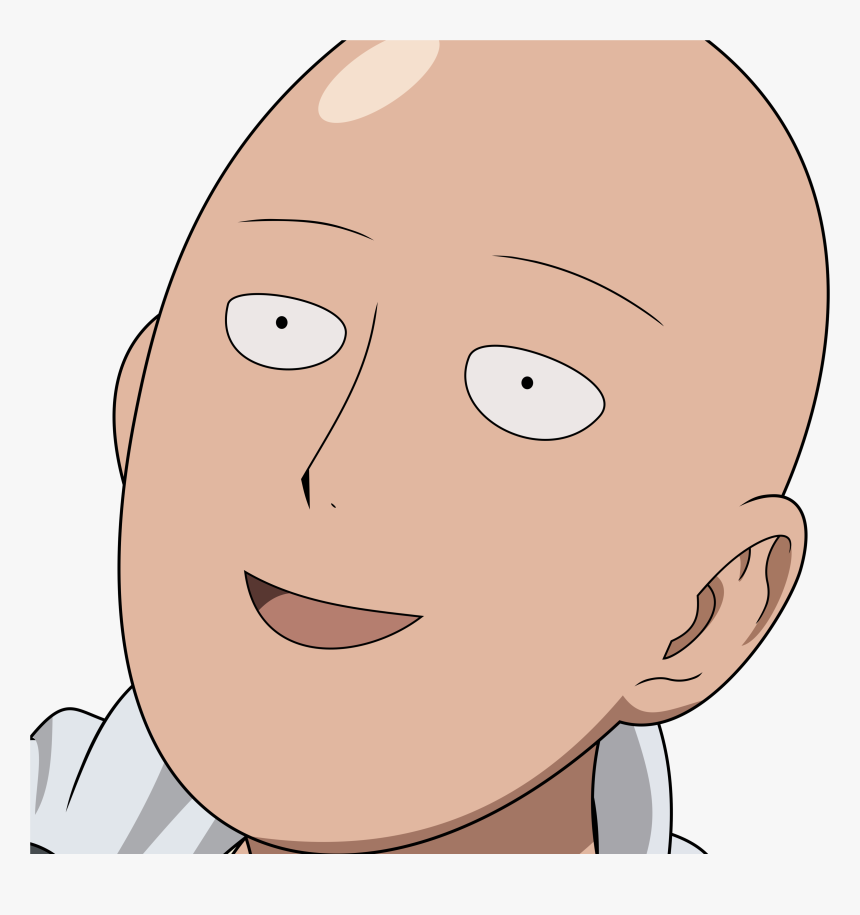 One Punch Man Simple - One Punch Man Cara, HD Png Download, Free Download