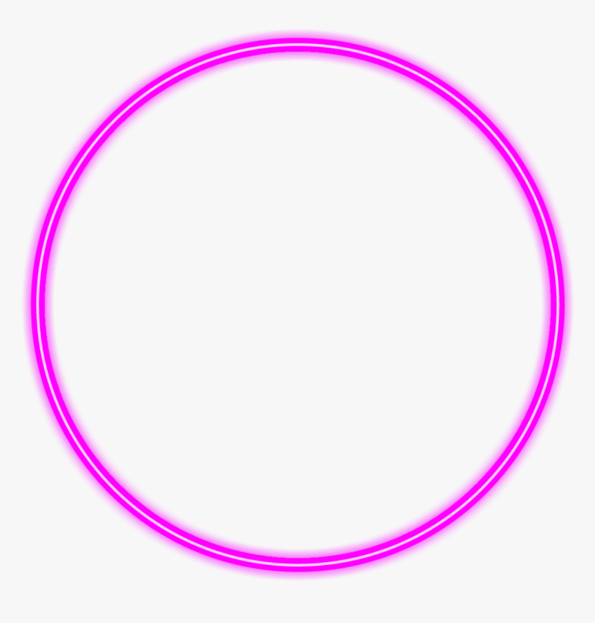 Transparent Ornamentos Png - Neon Glow Circle Png, Png Download, Free Download