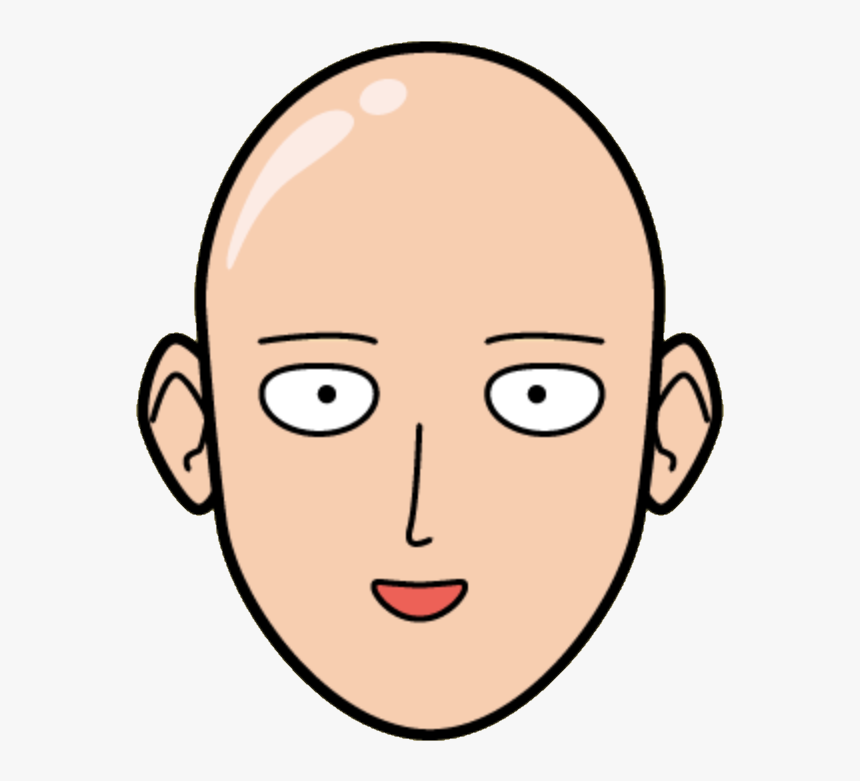 One Punch Man Head, HD Png Download, Free Download