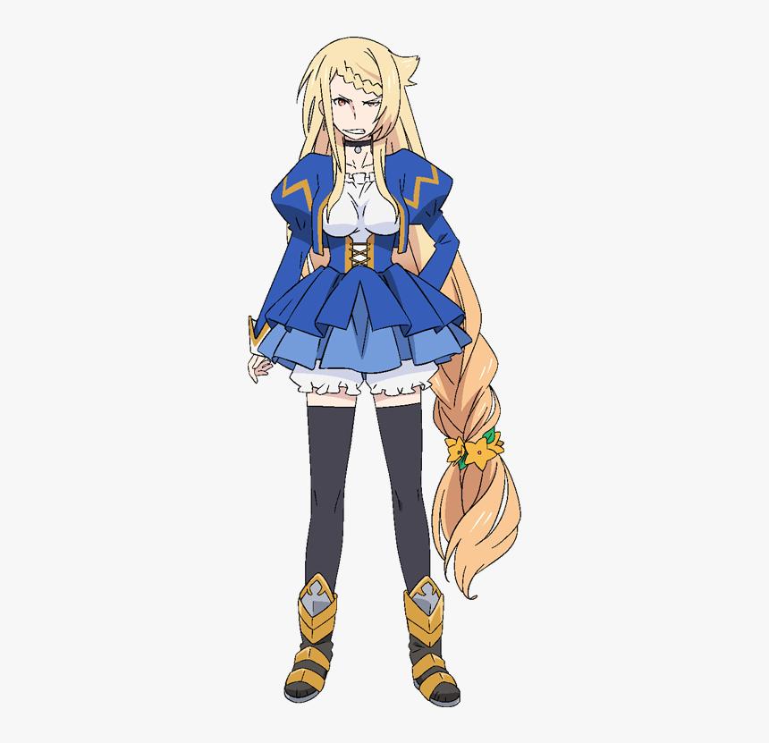 Anime, Nakayama Chiyo, Ekachi Epilka, Maou Sama Retry - Maou Sama Retry Characters, HD Png Download, Free Download