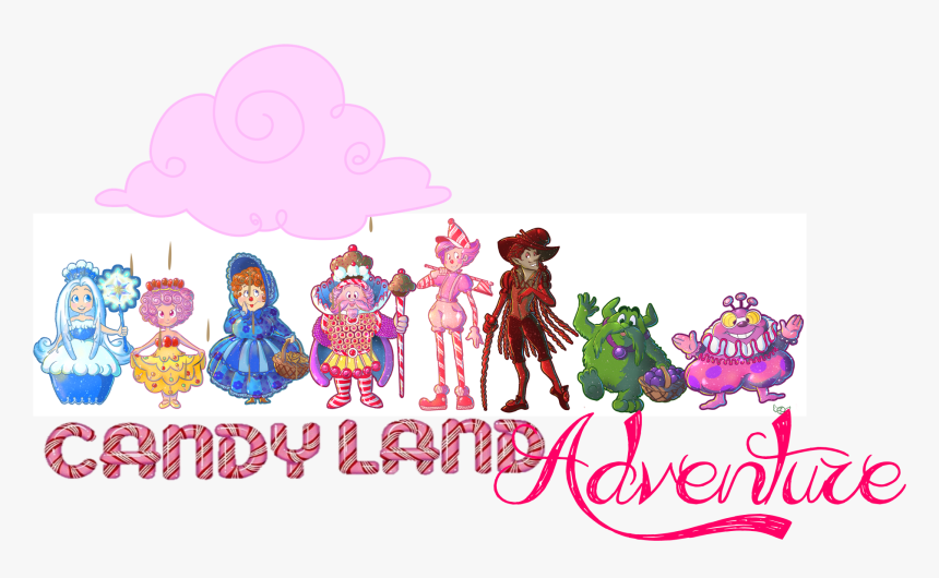 Transparent Candyland Png - Classic Candy Land Characters, Png Download, Free Download