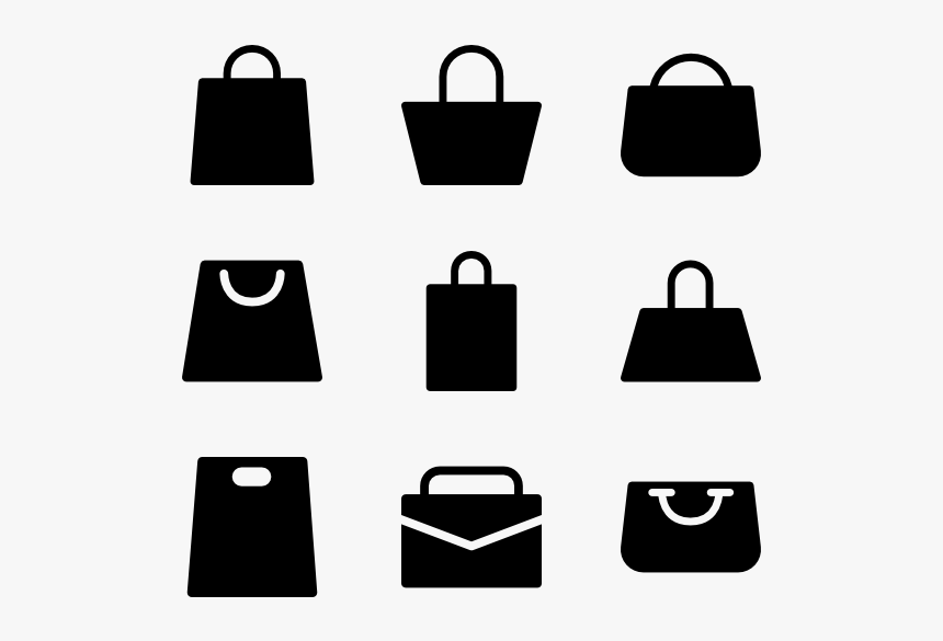 Shopping-bag - Logo Png Shopping Bags Vector, Transparent ...