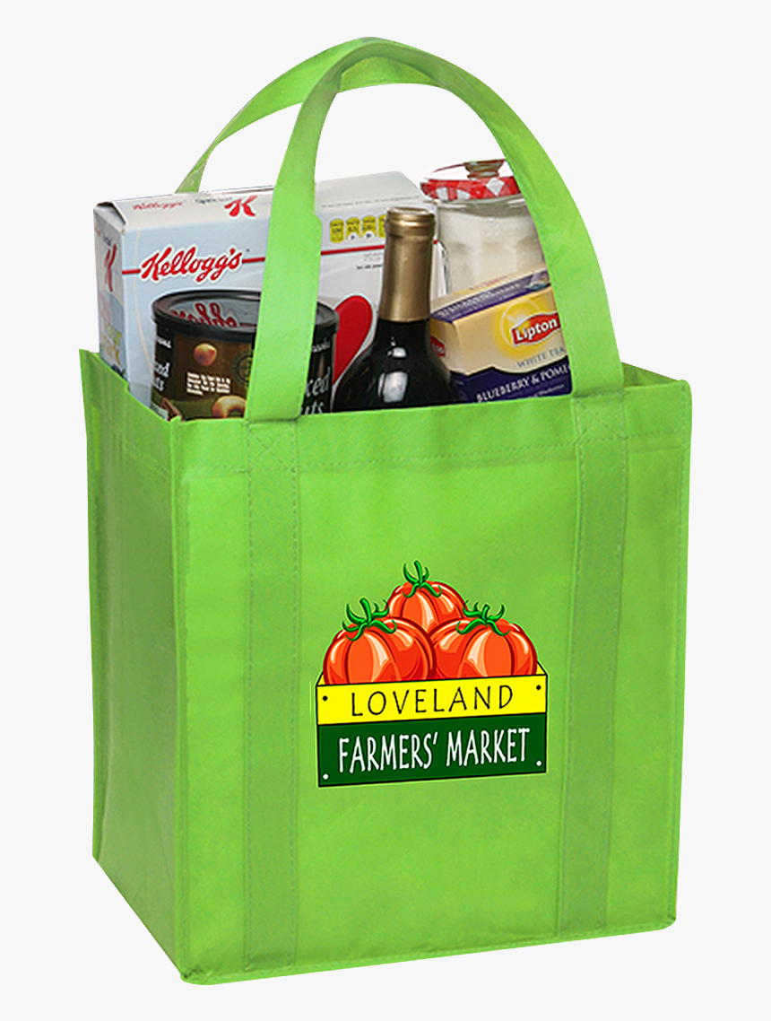 Picture Of Small Tote Bag - Grocery Bag Transparent, HD Png Download, Free Download