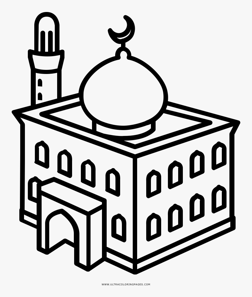 Masjid Coloring Pages At Getcolorings Com Free Coloring