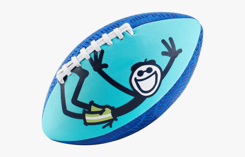 Good Times Aqua Football, Ocean Blue - Life Is Good Aqua Football, HD Png Download, Free Download