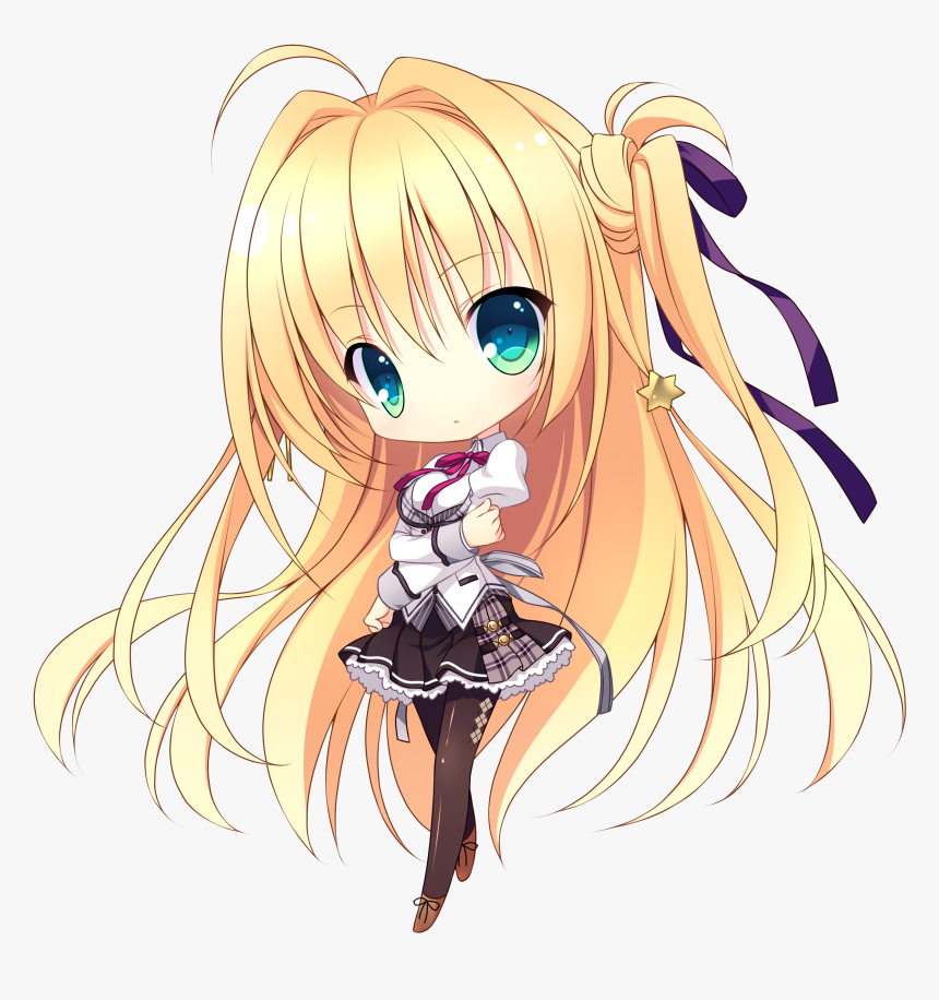 Dessin De Fille Chibi Kawaii Hd Png Download Kindpng
