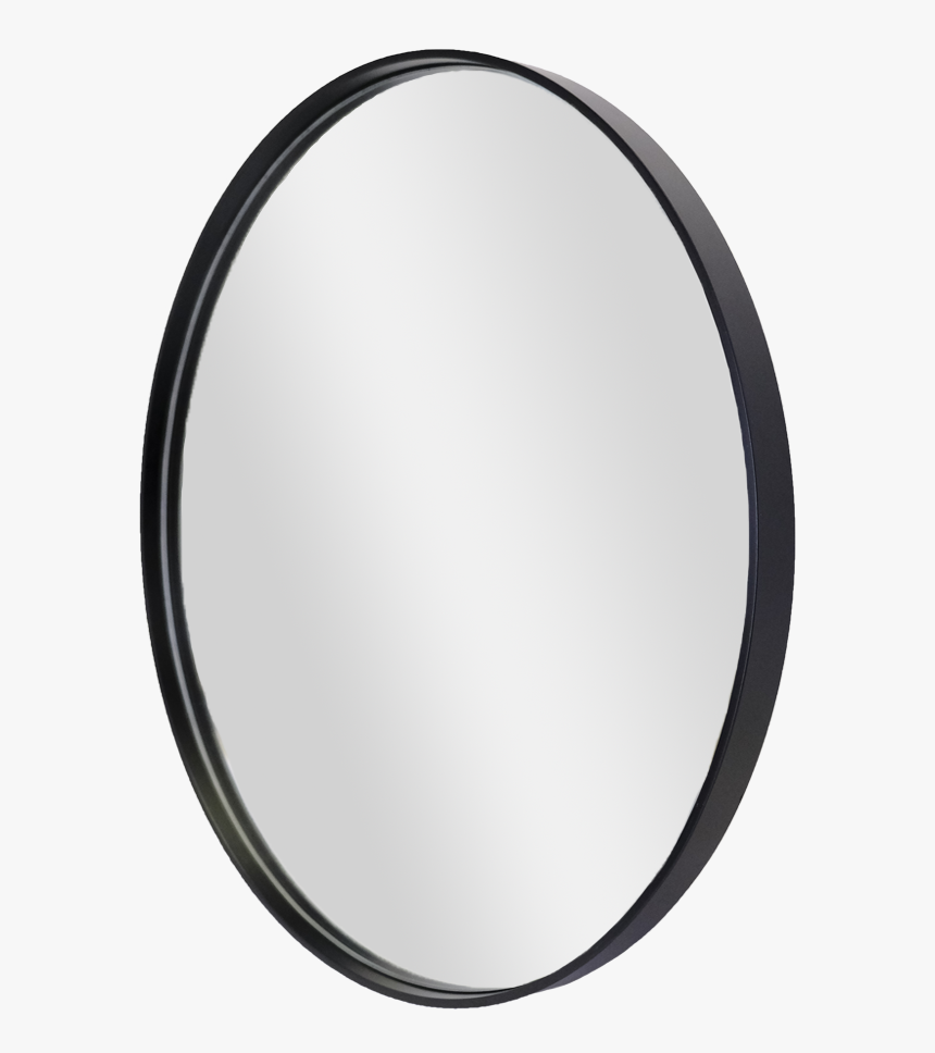 Black Round Mirror, HD Png Download, Free Download