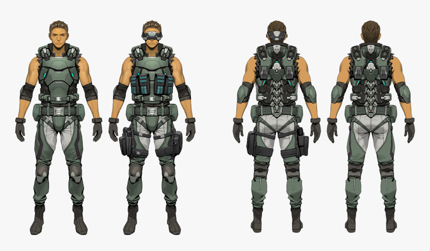 Transparent Ghost In The Shell Png - Soldier, Png Download, Free Download