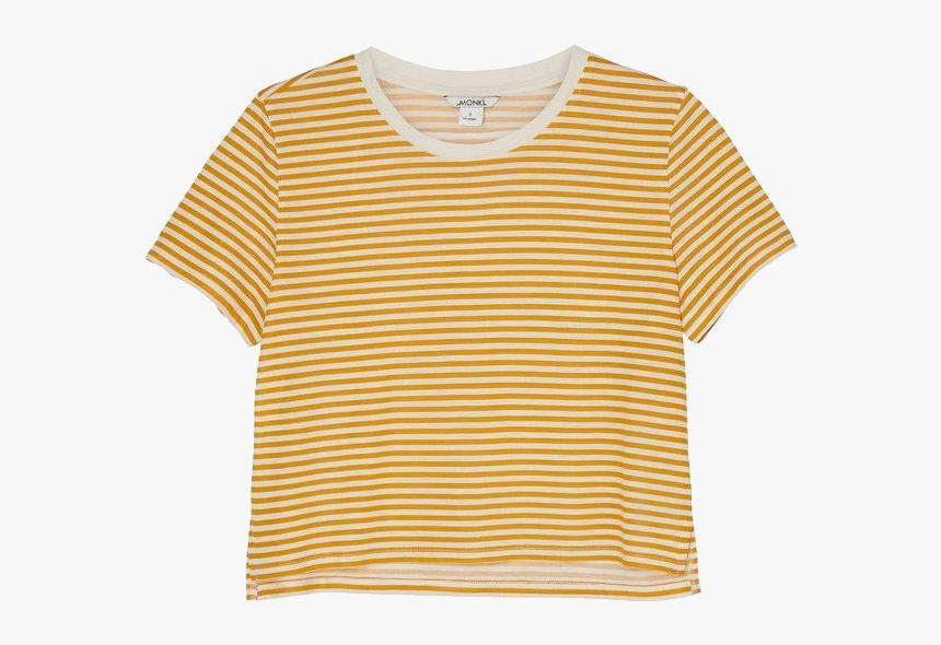 Striped Shirt Crop Top, HD Png Download, Free Download