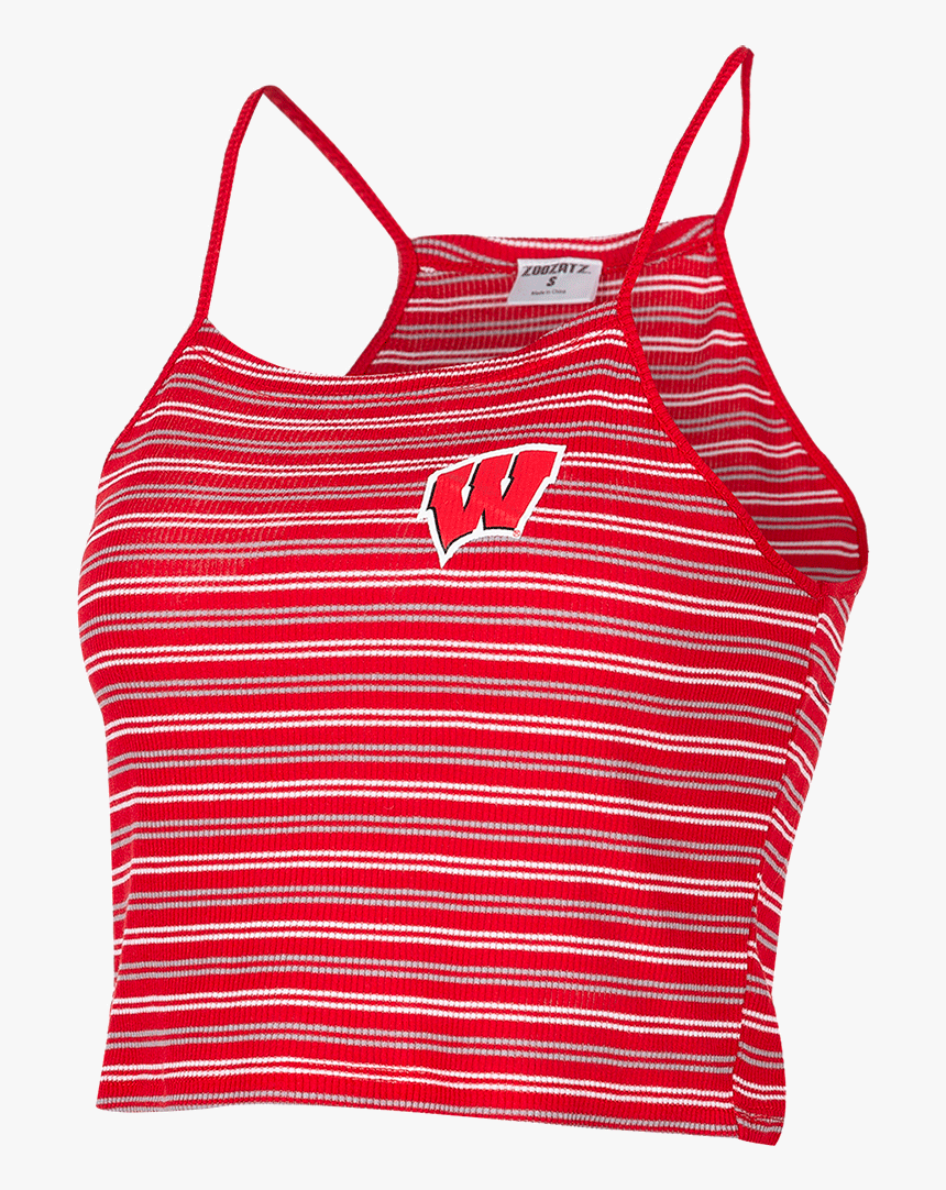"""Cover Image For Zoozatz Women""""s Crop Striped Motion - Active Tank, HD Png Download, Free Download"""