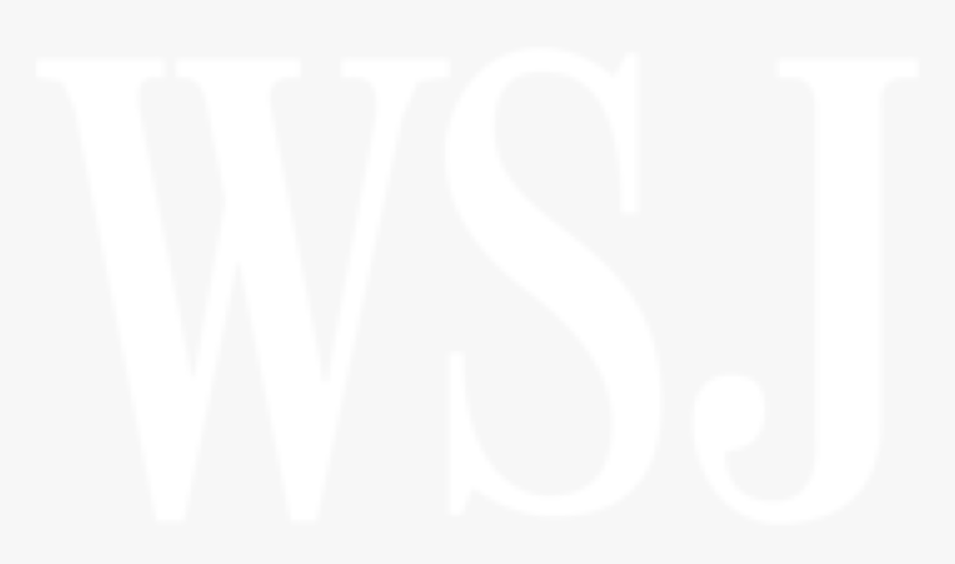 The Wall Street Journal Logo - Wall Street Journal Logo White, HD Png Download, Free Download