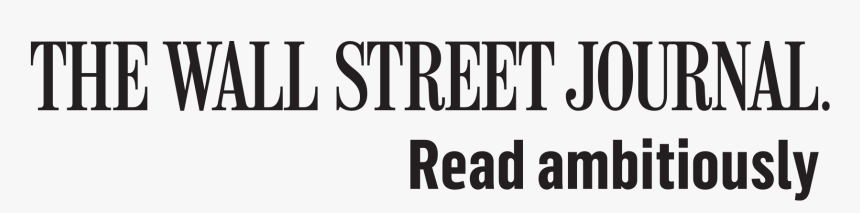 Wall Street Journal Read Ambitiously Logo, HD Png Download, Free Download