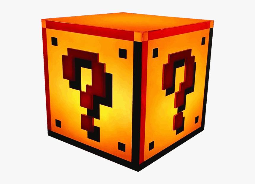 Nintendo Clipart Mario Block - Super Mario Question Block Light, HD Png Download, Free Download