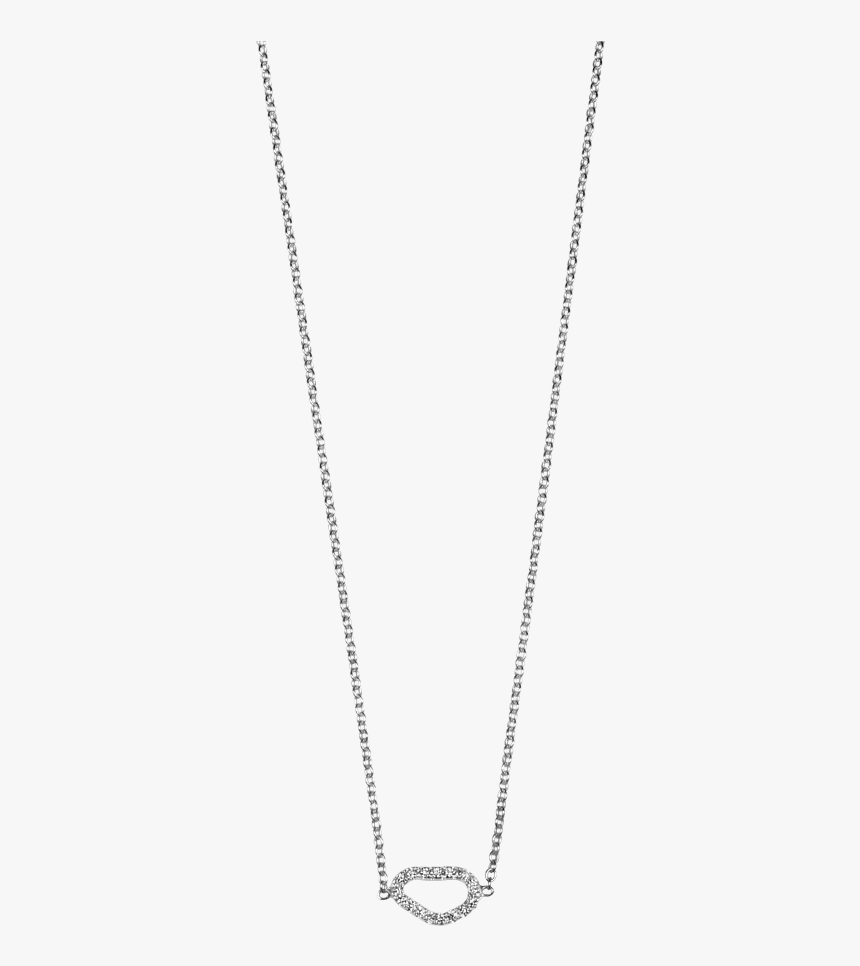 White Gold Necklace Png - Chain, Transparent Png, Free Download
