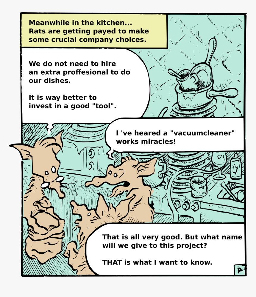 Rats In The Kitchen Clip Arts - Comics, HD Png Download, Free Download