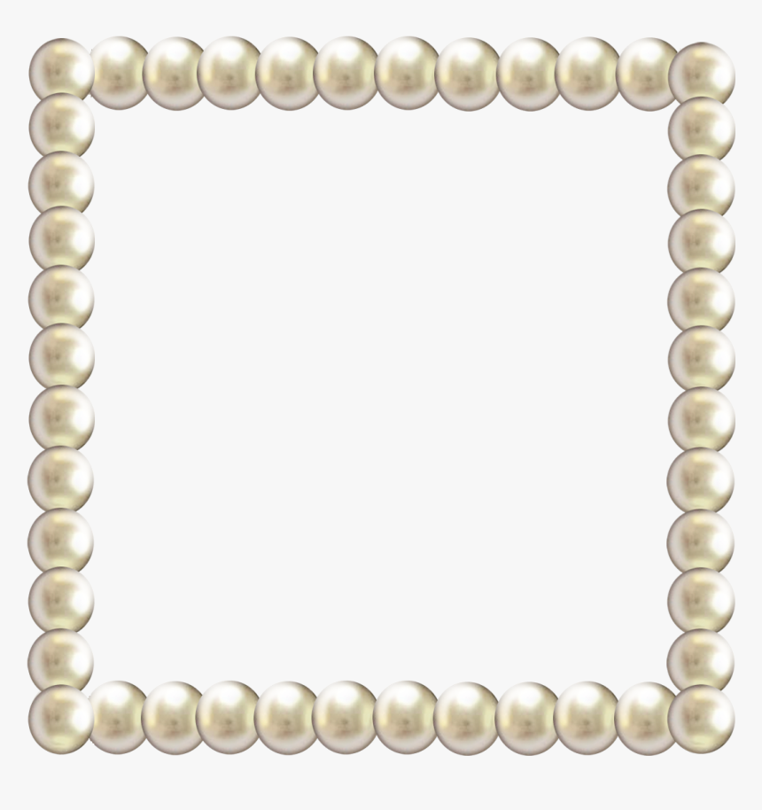 Pearl Border Png - String Of Pearls Png, Transparent Png, Free Download