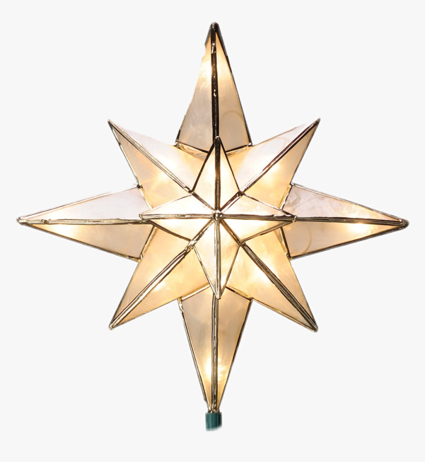#christmas #star #ornament - Christmas Tree Star Toppers, HD Png Download, Free Download