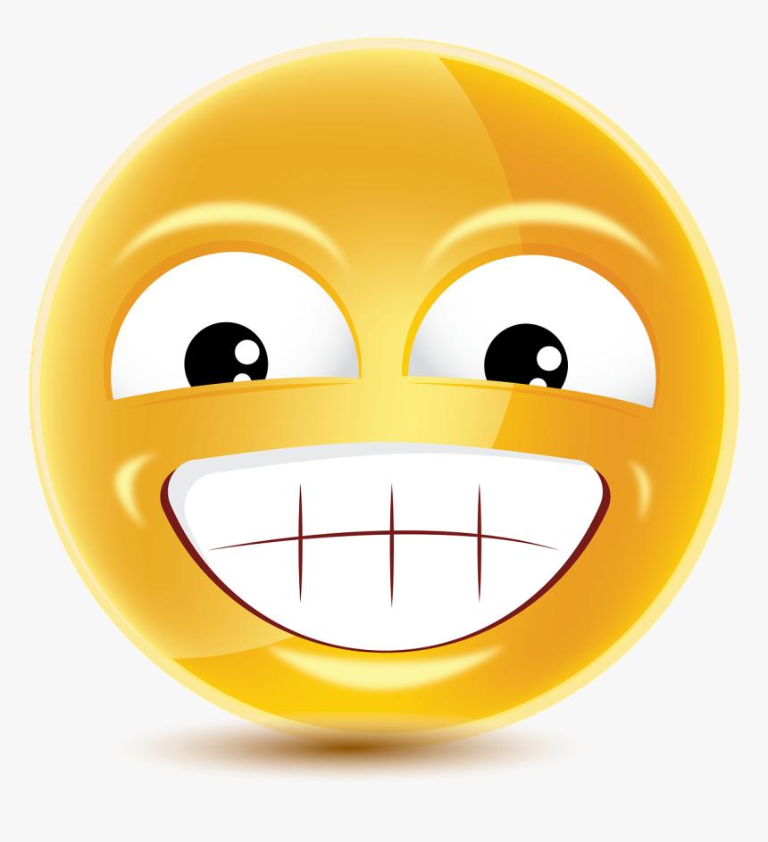 Emoji, Emoticon, Smiley, Cartoon, Face, Happy, Smile - Smiley, HD Png Download, Free Download