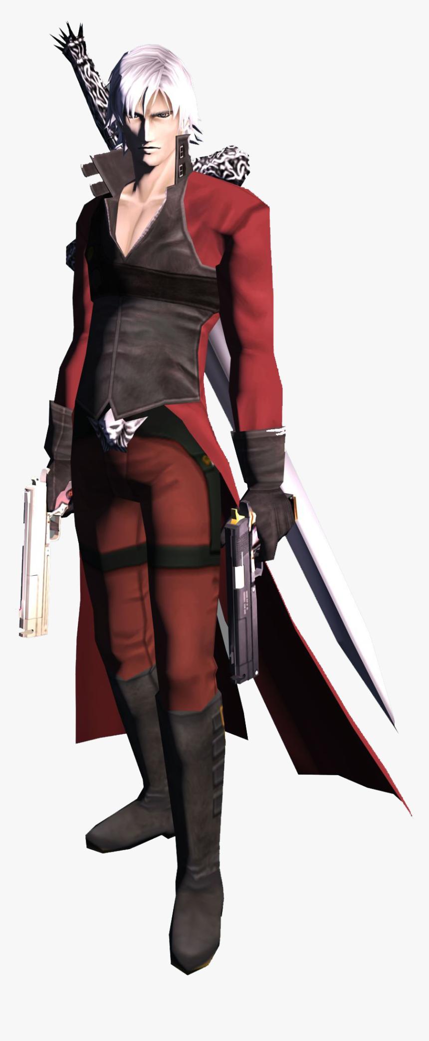 Devil May Cry 2 Dante Design Hd Png Download Kindpng