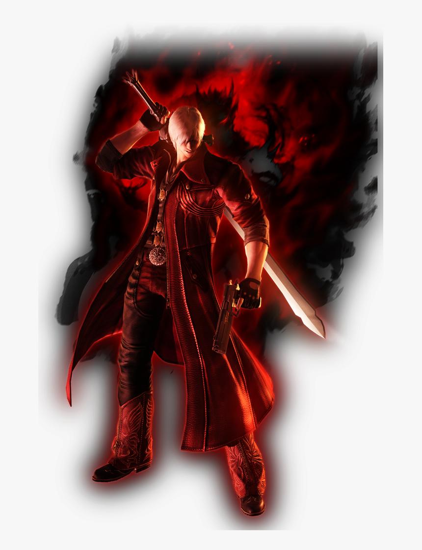 Super Dante Devil May Cry 4 Hd Png Download Kindpng