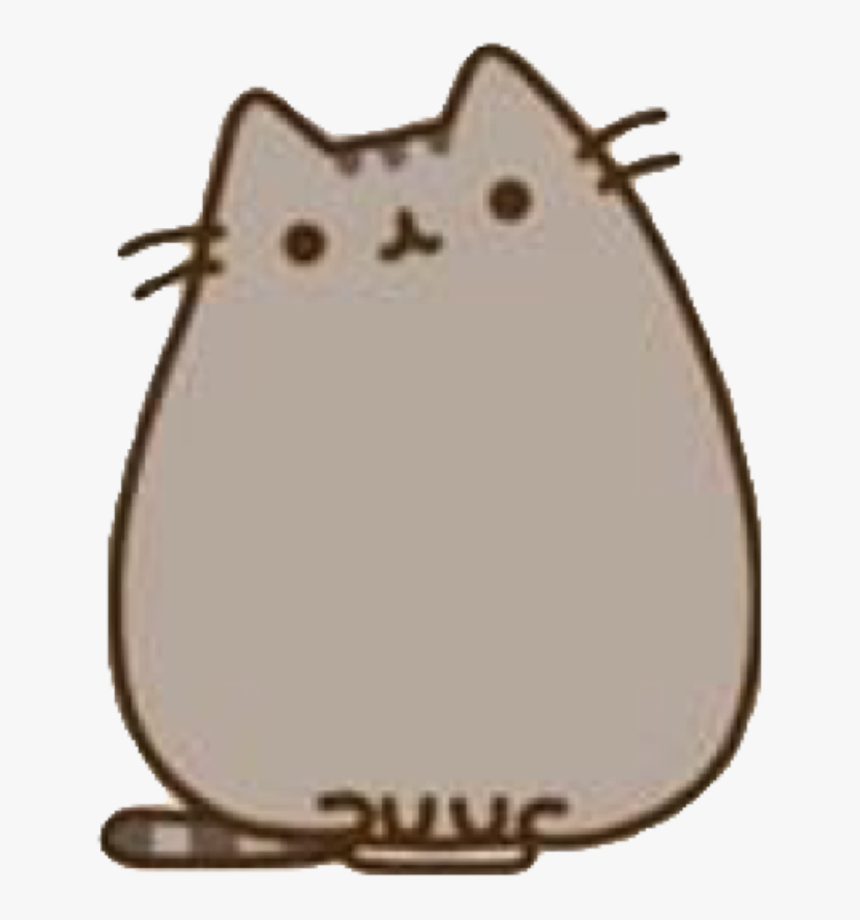 #pusheen #cat #whiskers #grey #freetoedit - Pusheen Stickers, HD Png Download, Free Download