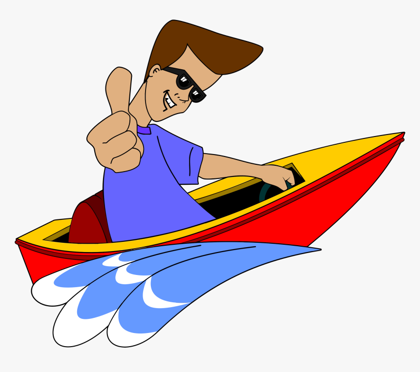 Free Speed Boat Cliparts - Speed Boat Clip Art, HD Png Download, Free Download