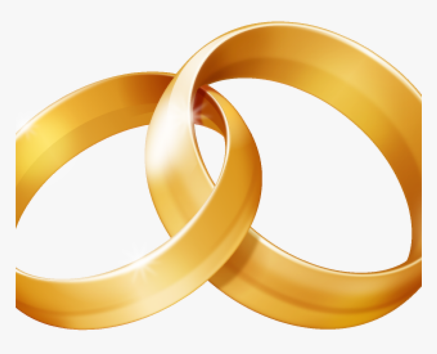 Wedding Ring Clipart Linked Wedding Rings Clipart Free Two Wedding Rings Transparent Hd Png Download Kindpng