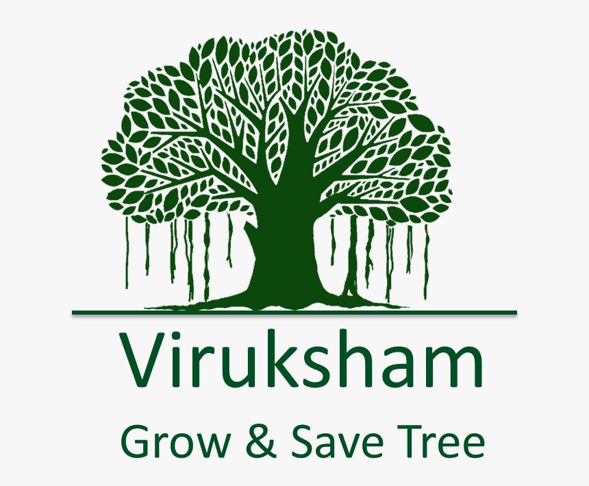 Tree-logo - Clipart Banyan Tree, HD Png Download, Free Download