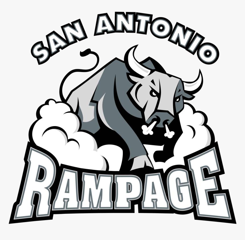 San Antonio Rampage - San Antonio Rampage Logo, HD Png Download, Free Download