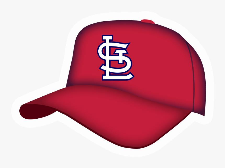 Transparent St Louis Cardinals Png - Hat St Louis Cardinals Art, Png Download, Free Download