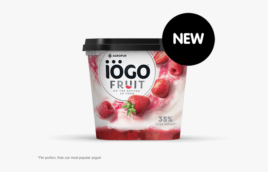 Iogo Yogurt Fruit On The Bottom, HD Png Download, Free Download