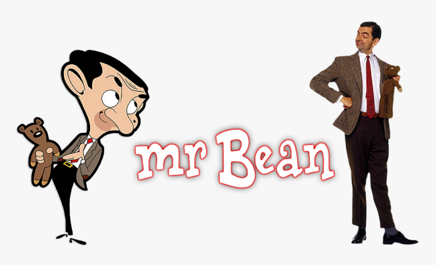Mr Bean Png - Mr Bean Vs Mr Bean Cartoon, Transparent Png, Free Download
