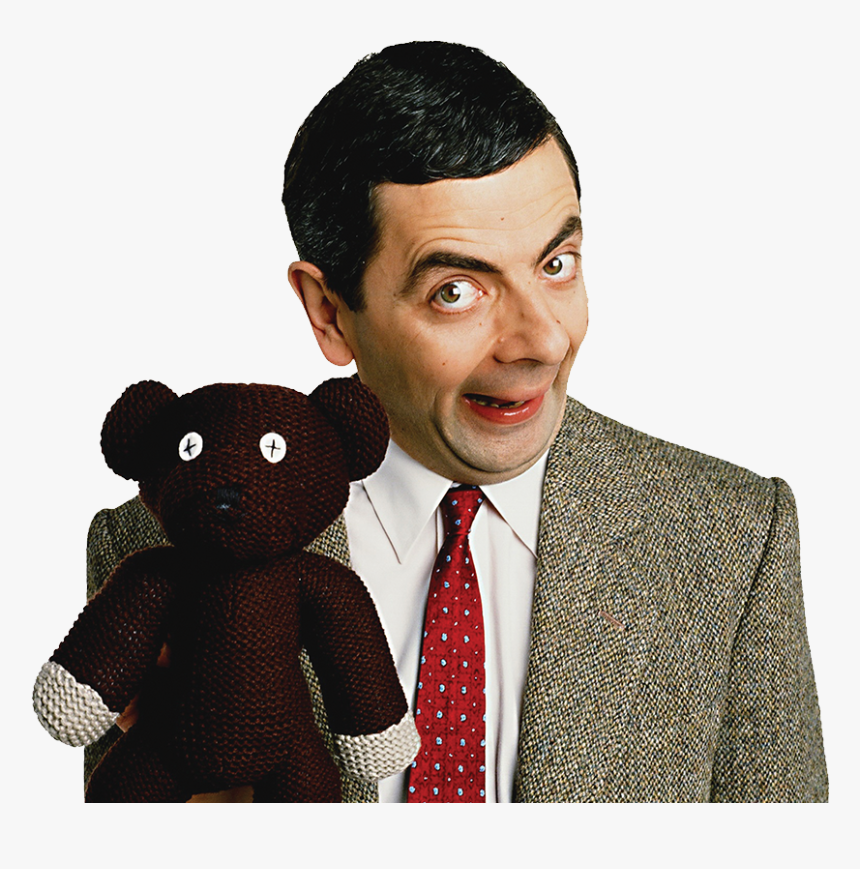 Mister Bean With Teddy, HD Png Download, Free Download