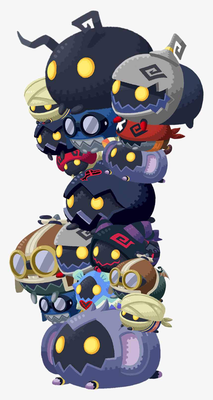 Heartless Tsum Khux - Heartless Kingdom Hearts Union X, HD Png Download, Free Download