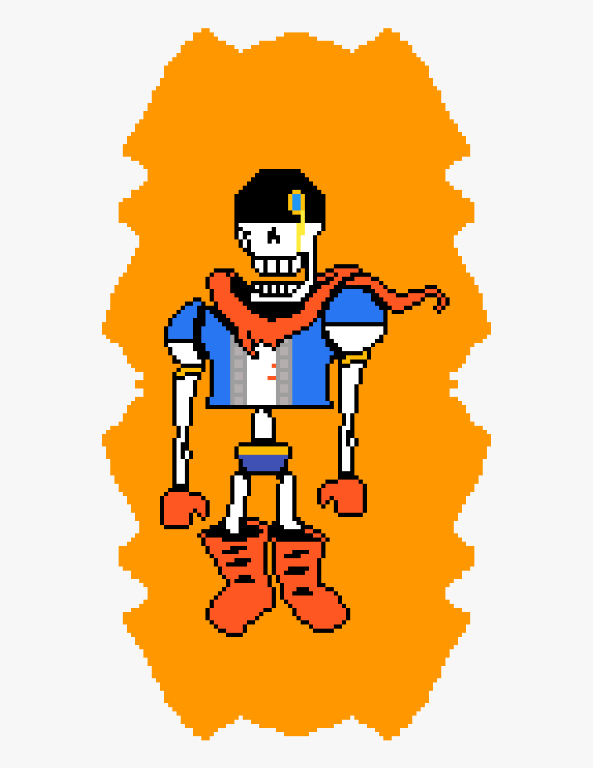 Hard Mode Phase 3 Papyrus Clipart , Png Download - Undertale Disbelief Papyrus Hardmode, Transparent Png, Free Download