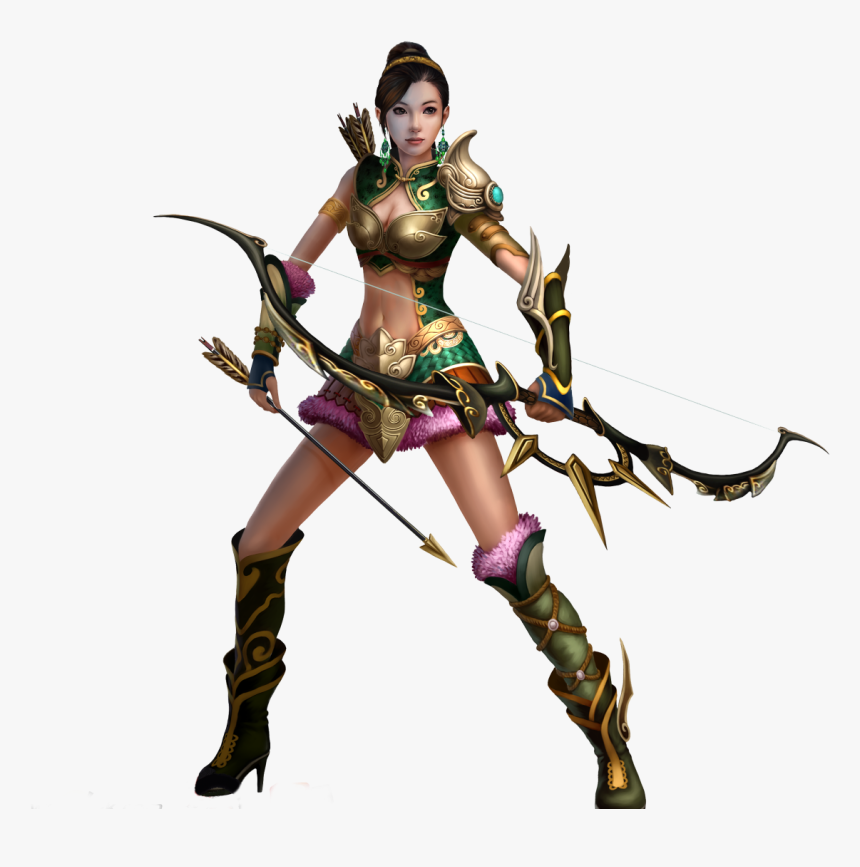 Game Character Female Hd - Portable Network Graphics, HD Png Download, Free Download