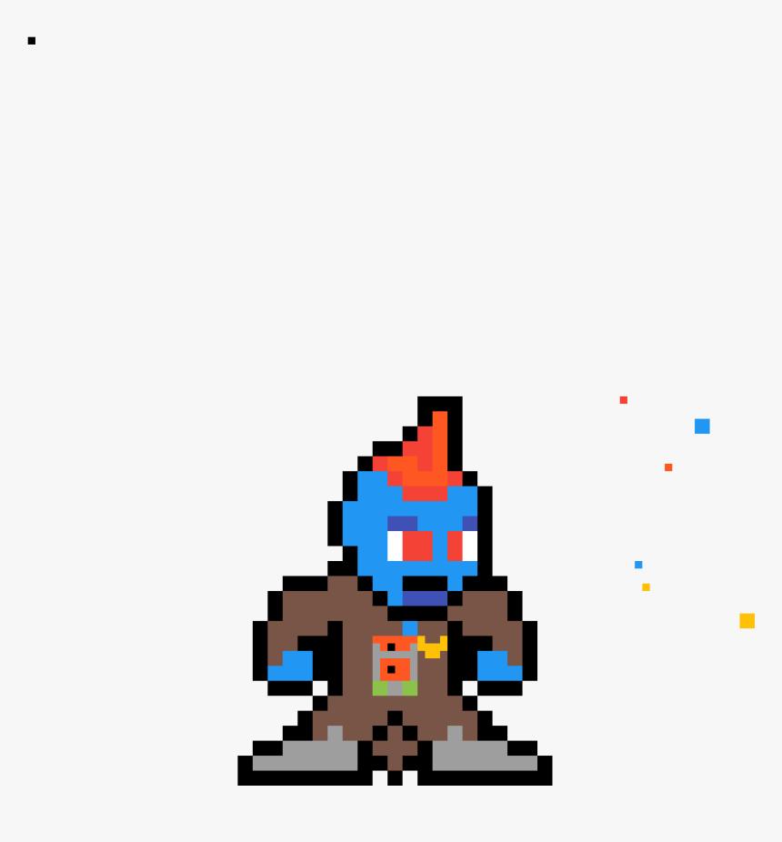 2d Video Game Character , Png Download - Mega Man Standing Sprite, Transparent Png, Free Download