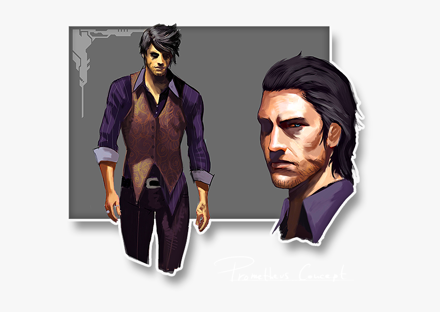 Prometheus - Video Game Characters Human, HD Png Download, Free Download