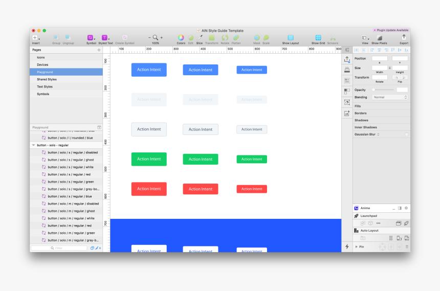 Transparent Fast Forward Button Png - Design System Template Sketch, Png Download, Free Download