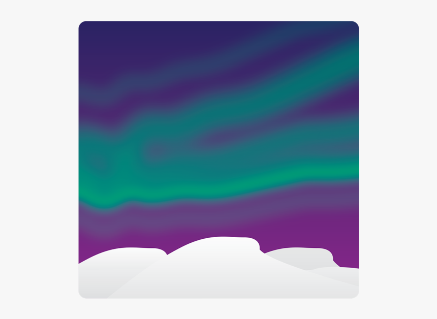 Aurora Borealis Emoji, HD Png Download, Free Download