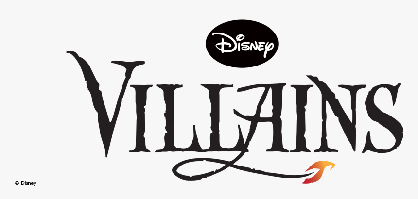 Hd Disney Villains - Disney Villains Logo Png, Transparent Png, Free Download